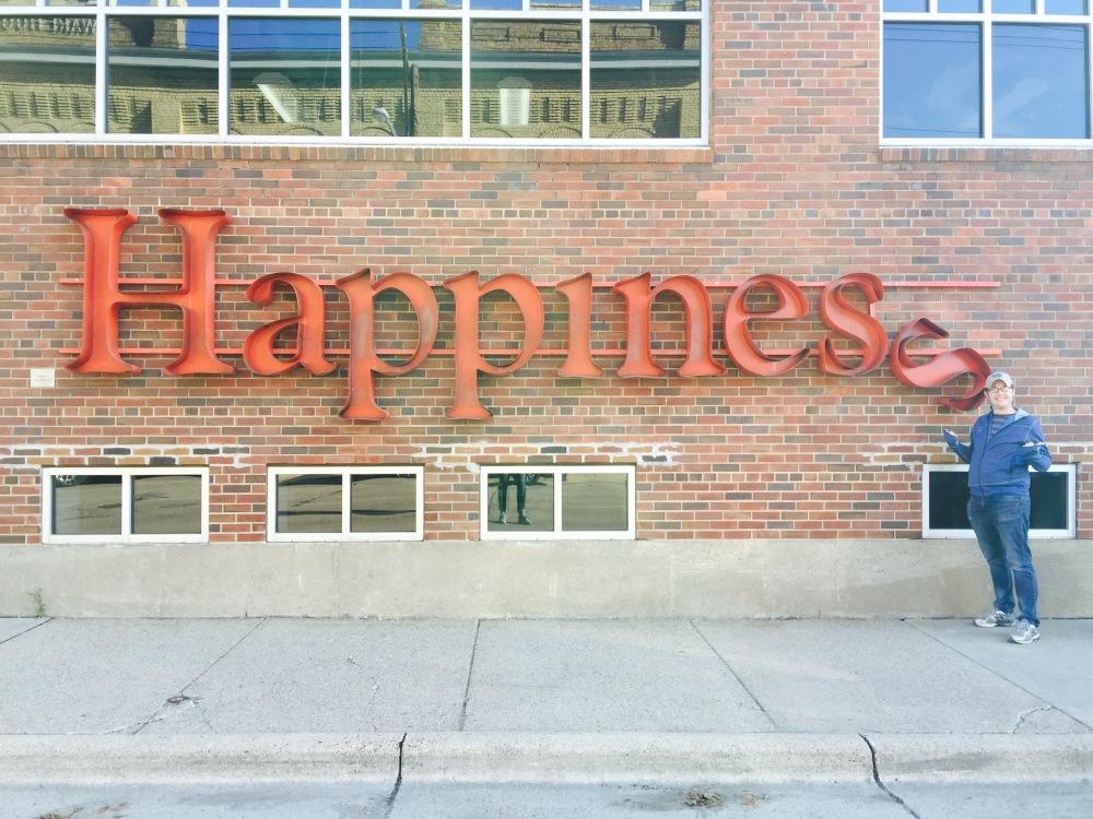 Brian happy in the NE Minneapolis Arts District